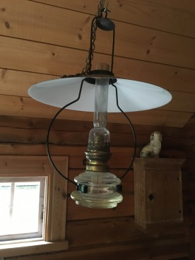 Lampan i nya huset behöver ny veke.