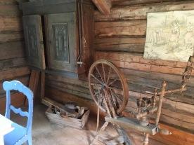 I gamla huset.